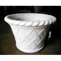 Wholesale White Marble Craved Flower Pots from china suppliers