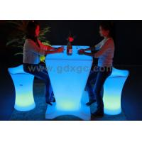 Wholesale LED Glowing Table smart table via remote control 2016 from china suppliers