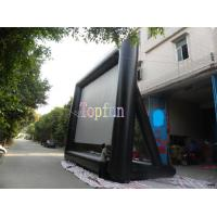 Wholesale Durable Advertising Commercial Inflatable Movie Screen For Rental Business / 0.55mm PVC Tarpaulin from china suppliers