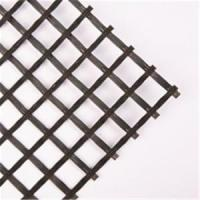 Wholesale Black Fiberglass Geogrid Geosynthetic Materials 80KN/M For Retaining Wall from china suppliers