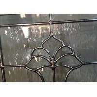 Quality Theft Proof Bevel Translucent Stained Glass Window Panels 10 Years Warranty for sale