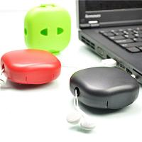 Quality Portable Colorful Households Products USB Cable Winder Headphone Cable Management for sale
