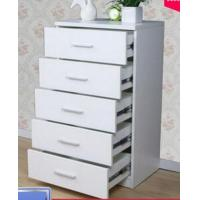 Quality Mutilfunctional 5 Drawer Storage Cabinet White Storage Cupboard For Bedroom for sale