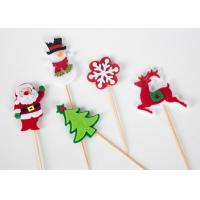 China 43 Color Felt Fabric Crafts For Christmas Cake Decoration EN71 Certificate on sale