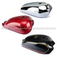 Wholesale Red / Black Motorcycle Fuel Tank / Gas Tank Cafe Racer Motorcycle Parts from china suppliers