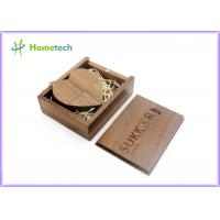 Wholesale Custom Heart-shaped Wooden USB Flash Drive 64gb 32gb / usb stick Flash drive from china suppliers