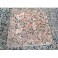 Nature Granite Stone Tiles Polished Finishing Solid Surface Red Color