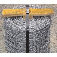 Wholesale Durable Pvc Coated Galvanized High Tensile Strength Barbed Fence Wire for Government Buildings from china suppliers