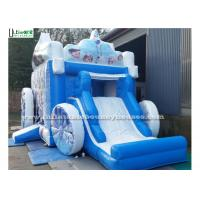 Wholesale Large Frozen Princess Happy Hop Jumping Castle PVC Tarpaulin from china suppliers