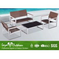 Buy cheap Reliable and Fashionable Metal Outdoor Furniture Bistro Table and Chairs from wholesalers