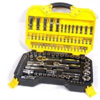 Wholesale 108 Piece Socket Wrench Set Emergency Tool Kit , Car Repairing Gand Tool Set for Home from china suppliers