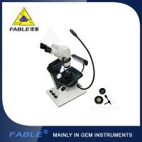 Wholesale Parallel light desin Generation 6th Swing arm type Gem Microscope F05 binocular lens from china suppliers