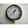 Buy cheap Steel Black Bottom Entry Dry Pressure Gauge with Flange 4