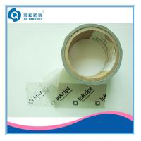 Wholesale Single Side Security Tamper Evident Tape , Carton Clear Packing Tape from china suppliers