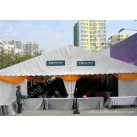 Wholesale Hanging Ripples White Double Layer Textile Outdoor Event Tent With Aluminum Alloy Frame from china suppliers