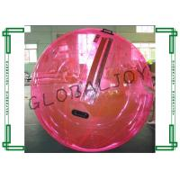 Wholesale Summer Red Inflatable Walking on Water Bubble Ball for Adults from china suppliers