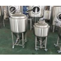 Wholesale 50L Homebrew Brewing System , Brewhouse Beer Brewing Equipment Fermentation Tank from china suppliers