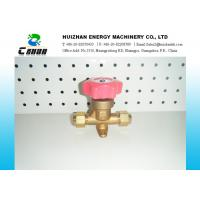 Wholesale Brass Air Conditioning Valve Shut off Hand Valve Flare With Nut Type from china suppliers