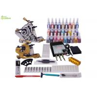 Wholesale Flat LCD Power Supply Professional Tattoo Kits , Tattoo Gun Starter Kits from china suppliers
