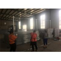 """Wholesale 6 foot x 12 foot chain mesh temporary fence panels mesh  2"""" x 2 """" x 11.5 gauge wire chain wire temporary fence from china suppliers"""