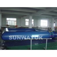 Wholesale Safety Cool Blue Inflatable Swimming Pools In Summer Outdoor OEM from china suppliers