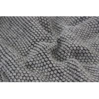 Wholesale 2017 F/W NEW COLLECTION GREY WOOL FABRIC WITH DROP NEEDLE KNITTING CRAFT FOR COAT from china suppliers
