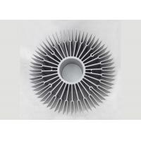 Wholesale OEM Sunflower 6063 Aluminium Heat Sink Profiles , Round Heat Sink Extrusion from china suppliers
