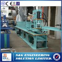 Quality 70mm Roller Shutter Door Machine , Fully Automatic Stud And Track Roll Forming Machine for sale