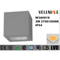 Wholesale IP54 Electrostatic Dusting Finishing Wall Mounted Led Wall Lights W3A0018 from china suppliers