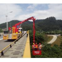 Buy cheap Dongfeng Chassis National V 18m Bucket  Bridge Inspection Equipment from wholesalers