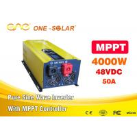 Wholesale One 48v Dc To 110v Ac 4000w Pure Sine Wave Inverter For MPPT Solar Inverter from china suppliers