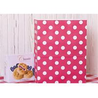 Buy cheap Red Dots Paper Packaging Bags with Handle Gift Bags 8x4.75x10.5 inch Shopping Bag from wholesalers