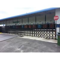Wholesale Warehouse Motorized Auto Folding Gate Powder Coated Retractable from china suppliers