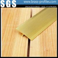 Wholesale Brass Floor Extrusion T Layer Frame / Copper T Slot Framing from china suppliers