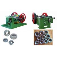 Wholesale High Speed Screw / Bolt Nut Making Machine , 50-160 Pcs/Min Productivity from china suppliers