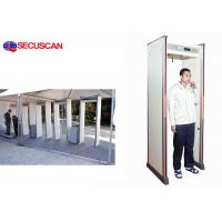 Wholesale Security high sensitivity walk-through metal detector door frame for detect contraband from china suppliers