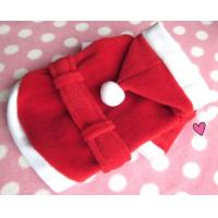 Wholesale Christmas dog jackets with soft cotton from china suppliers