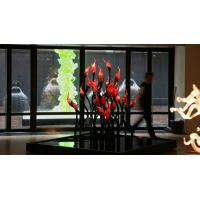 Wholesale Blown Murano Glass Centerpieces Flower Sculpture from china suppliers