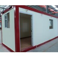 Wholesale flat pack emergency house steel structure container shelter from china suppliers