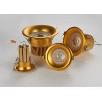 Wholesale Cambered Surface Recessed LED Downlight With Pure Gold Thread Welding Solid Radiator from china suppliers