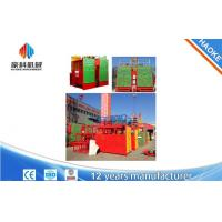 Wholesale High Security Construction Material Hoist With Rated Lifting Capacity 1000 / 1000 kg from china suppliers