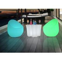 Wholesale Outdoor Commercial Outdoor Indoor LLED Bar Table , Plastic Lighted Bar Tables from china suppliers