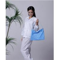 Wholesale 5mm strip cleanroom lint free washable anti static ESD jacket and pants from china suppliers