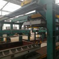 China Static Pressure Automatic Moulding Line Labour Saving High Performance on sale
