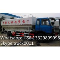 Wholesale dongfeng 190hp 10ton electronic/hydraulic discharging animal feed deliery truck for sale, farm-oriented fish feed truck from china suppliers