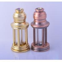 Wholesale 3ml Alloy Retro Style perfume dropper bottle essential oil glass roll on bottle from china suppliers