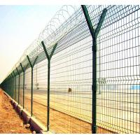 Wholesale galvanized fence top spikes prison safety fence from china suppliers