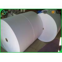 Wholesale Uncoated Woodfree Virgin Jumbo Roll Paper 60gsm 70gsm 80gsm For Making Paper Cup from china suppliers