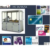 Wholesale High precision credit card maker machine 3 Punches L2250 × W1070 × H1850mm from china suppliers
