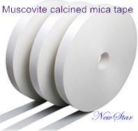 Wholesale Synthetic Calcined High Temperature Mica Tape , Fiberglass Fabric Reinforced Cable Tape from china suppliers